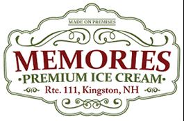 memories ice cream logo