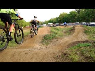 pump track and riders